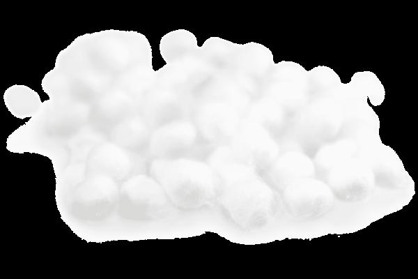 Boulettes de coton